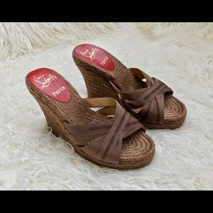 Christian Louboutin Wedge Sandals 36
